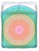 Multicolor Circle Duvet Cover