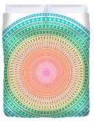 Multicolor Circle Duvet Cover