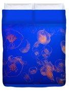 Multiple Jelly Fish Duvet Cover