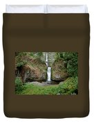 Multnomah Falls - Wide View Duvet Cover