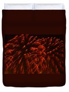 Mums Absract Duvet Cover by Sandi OReilly