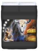 Mural Art Duvet Cover