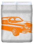 Muscle Car Duvet Cover