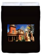 Museum In Silver City Nm Duvet Cover