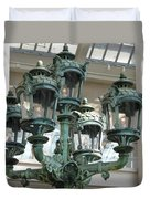 Museum Lights Duvet Cover