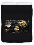 Mushrooms 6 Duvet Cover