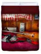 Music - Guitar - That Old Country Feel Duvet Cover