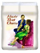 Music That Charms Duvet Cover