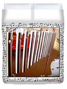 Music To My Ears II Duvet Cover