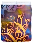 Musical Roots Duvet Cover