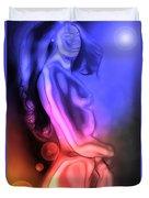 Mutation By Moonlight Duvet Cover