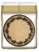 Muybridge Zoopraxiscope Horse Duvet Cover