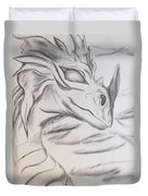 My Dragon Duvet Cover