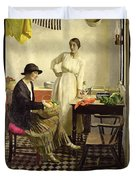 My Kitchen Duvet Cover by Harold Harvey