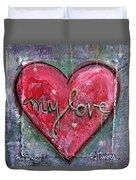 My Love Heart Duvet Cover
