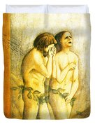 My Masaccio Expulsion Of Adam And Eve Duvet Cover