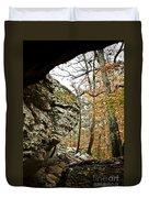 My Rock My Shelter Duvet Cover