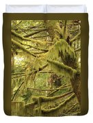 Mysterious Moss Duvet Cover