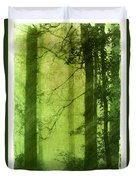 Mystical Glade Duvet Cover by Judi Bagwell