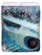 Mystical Keys Duvet Cover