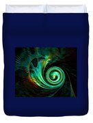 Mystical Spiral Duvet Cover