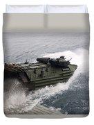 N Amphibious Assault Vehicle Departs Duvet Cover