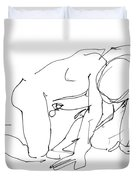 Naked-man-art-18 Duvet Cover