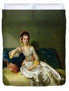 Nancy Parsons In Turkish Dress Duvet Cover