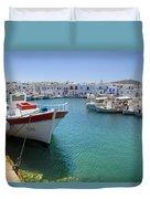 Naoussa - Paros Duvet Cover
