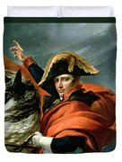 Napoleon Crossing The Alps On 20th May 1800 Duvet Cover