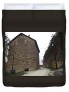 Narrow Dirt Road Duvet Cover