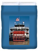 Natchez Riverboat Duvet Cover