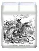 Nathan Bedford Forrest (1821-1877) Duvet Cover