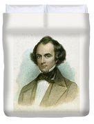 Nathaniel Hawthorne Duvet Cover