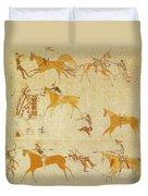 Native American Art Duvet Cover