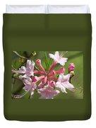 Native Azalea Duvet Cover