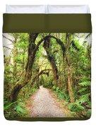 Native Bush Duvet Cover