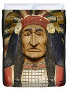 Native Chief Duvet Cover