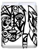 Native Man Duvet Cover