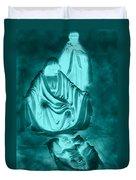 Nativity Duvet Cover by Lourry Legarde