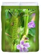 Natural Bouquet Duvet Cover