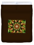 Natural Pinwheel Duvet Cover