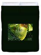 Natural Rhinestones Duvet Cover