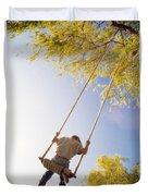 Natural Swing Duvet Cover