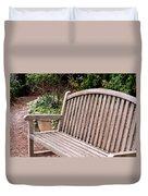 Natural Wood Duvet Cover