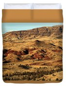 Naturally Painted Hills Duvet Cover