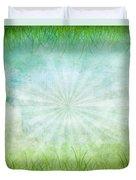 Nature Grunge Paper Duvet Cover
