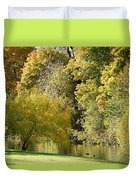 Nature Of The Fall Duvet Cover