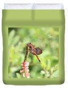 Nature Square - Saddleback Dragonfly Duvet Cover