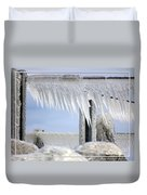 Natures Ice Sculptures1 Duvet Cover